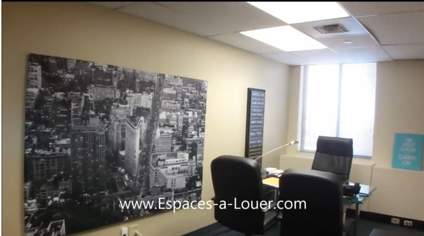 Sublease Office Space Downtown Financial Core 1000 sf Office