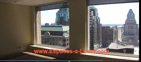 beautiful class A office space with a view