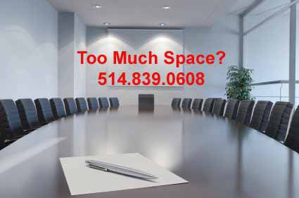 sublease your office space